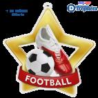 Lot de 50 médailles + 50 Rubans Offerts MDSTARSFR01 Football