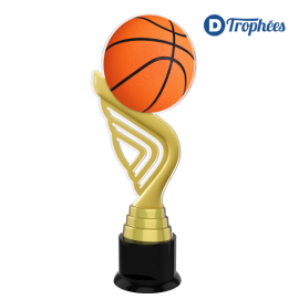 Trophée Acryglass ACTA Basket-Ball
