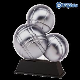 Trophée Acryglass FA201 Pétanque