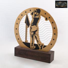 Trophée TBG7008 Golf