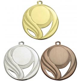 Lot de 100 médailles sportives Ø50 centre Ø25