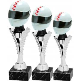 Trophée sportif Luxe SL1800.02 (3 tailles - Discipline Fastfix 3D ou Centre résine Ø70)