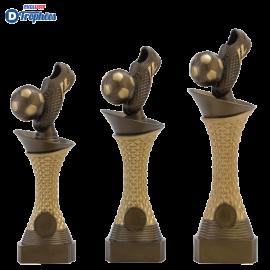Trophée sportif Luxe C164 (3 tailles - Discipline en 3D)