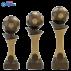 Trophée sportif Luxe C163 (3 tailles - Discipline en 3D)