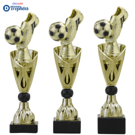 Trophée sportif Luxe A326 Football Chaussure (3 tailles - Discipline en 3D)