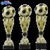 Trophée sportif Luxe A326 Football Ballon (3 tailles - Discipline en 3D)
