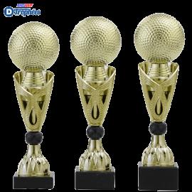 Trophée sportif Luxe A326 Golf (3 tailles - Discipline en 3D)