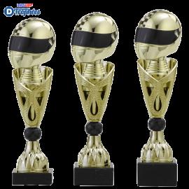 Trophée sportif Luxe A326 Sports Mécaniques (3 tailles - Discipline en 3D)