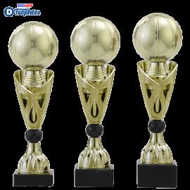 Trophée sportif Luxe A326 Basket-Ball (3 tailles - Discipline en 3D)