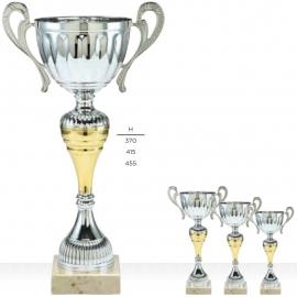 Lot de 3 coupes sportives pas chères à anses (1 série de 3 coupes à anses)
