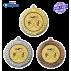 Lot de 50 Médailles sportives Ø70 centres Ø50