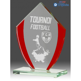 Trophée Sportif en Verre B319 (3 tailles)