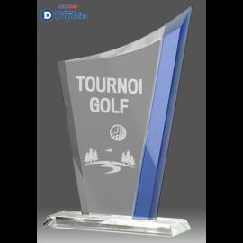 Trophée Sportif en Verre B337 (3 tailles)