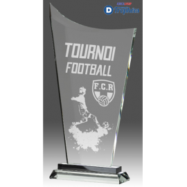Trophée Sportif en Verre B343 (3 tailles)