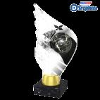 Trophée Acryglass AKEA Boule Bretonne (3 tailles)