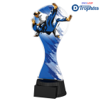 Trophée sportif ACUTC Judo Féminin (3 tailles)