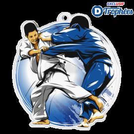 Lot de 50 médailles MDA0010 Judo Masculin