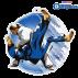 Lot de 50 médailles MDA0010 Judo Féminin
