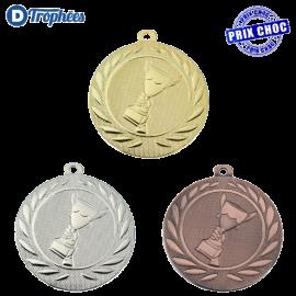 Lot de 100 médailles sportives Victoire Ø50