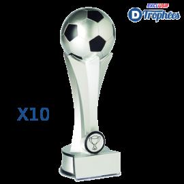 Trophées Sportifs en Résine Football 2437 (lot de 10)