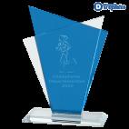Trophée Sportif en Verre GLA2002 (3 tailles)