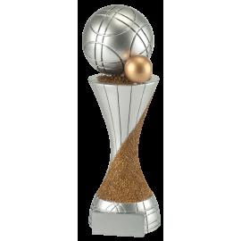Trophée résine Boule de Pétanque PCM1410 (3 tailles)