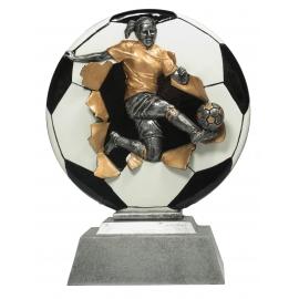 Trophée résine Football Feminin FG1210 16 cm