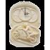 Pendule Murale Moto ~32x22 cm