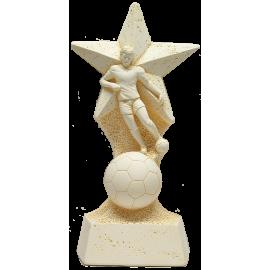 Trophée Pierre du Gard Football Etoile 28 cm