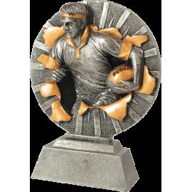 Trophée résine Rugby FG1217  18 cm