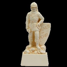 Trophée Pierre du Gard 1464 Pompier-Personnage 22 cm