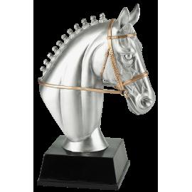 Trophée résine Tête de Cheval PCM1412/1 18 cm