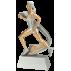 Trophée résine Course à pied Femme PCM 1417 (3 tailles)