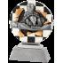 Trophée résine Karting FG1075 Arg  13,5 cm