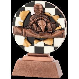 Trophée résine Karting FG1075 Brz 13,5 cm