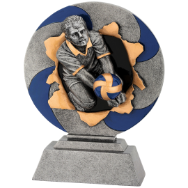 Trophée résine Volley-Ball FG1141  18 cm