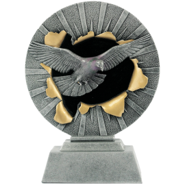 Trophée résine Colombophile FG1235 (3 tailles)