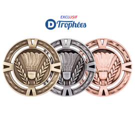 Médaille  Innovation MM1034  Ø60 Badminton