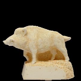 Trophée Pierre du Gard 1719 Sanglier 19 cm