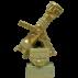 Trophée Pierre du Gard 1810BR Lance Incendie GM Bronze doré 37,5 cm