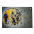 Horloge en ardoise Pompiers 2780 Tremblement de Terre