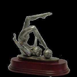 Trophée résine Gymnastique Femme 2116 17 cm