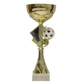 Coupe-Trophée Football (3 tailles)